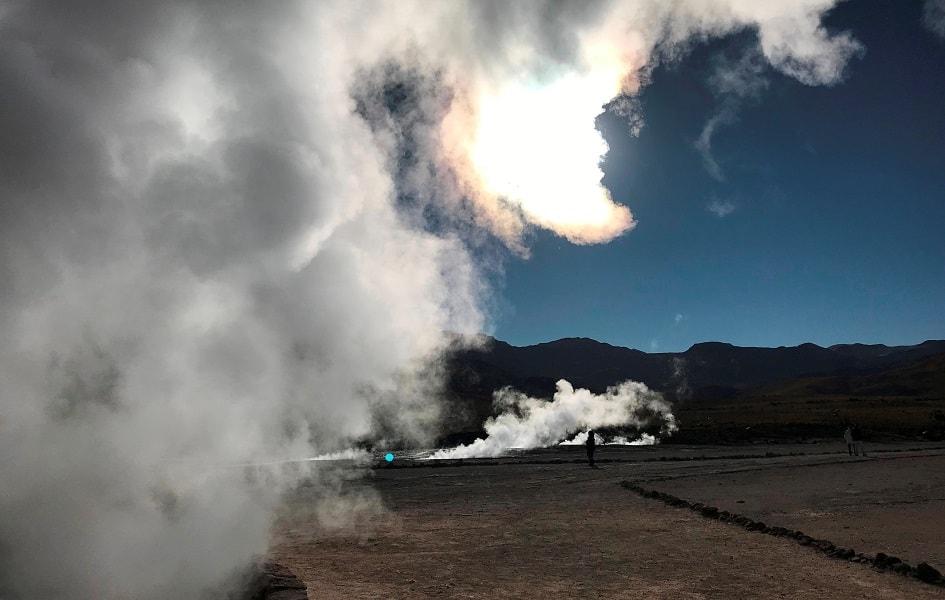 Чили. Экскурсия на гейзеры Татио