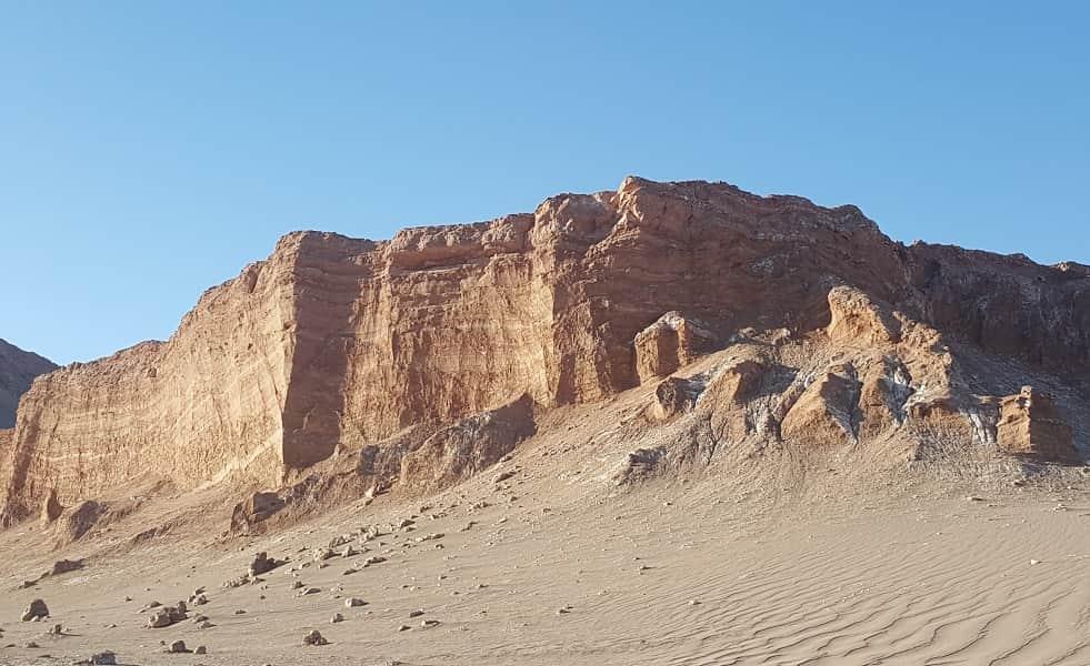 Экскурсионные туры в Чили. Пустыня Атакама. Лунная долина
