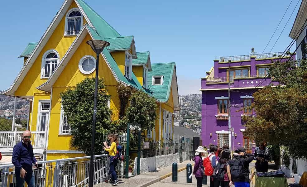 Туры в Чили. Экскурсия в Вальпараисо