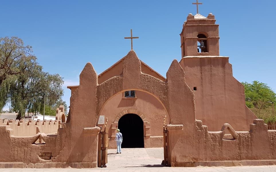 Чили. Сан Педро де Атакама. Церковь