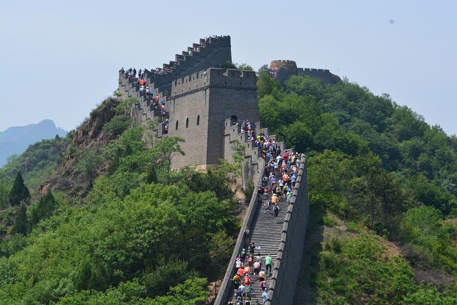 Туры в Пекин. Фрагмент Великой китайской стены