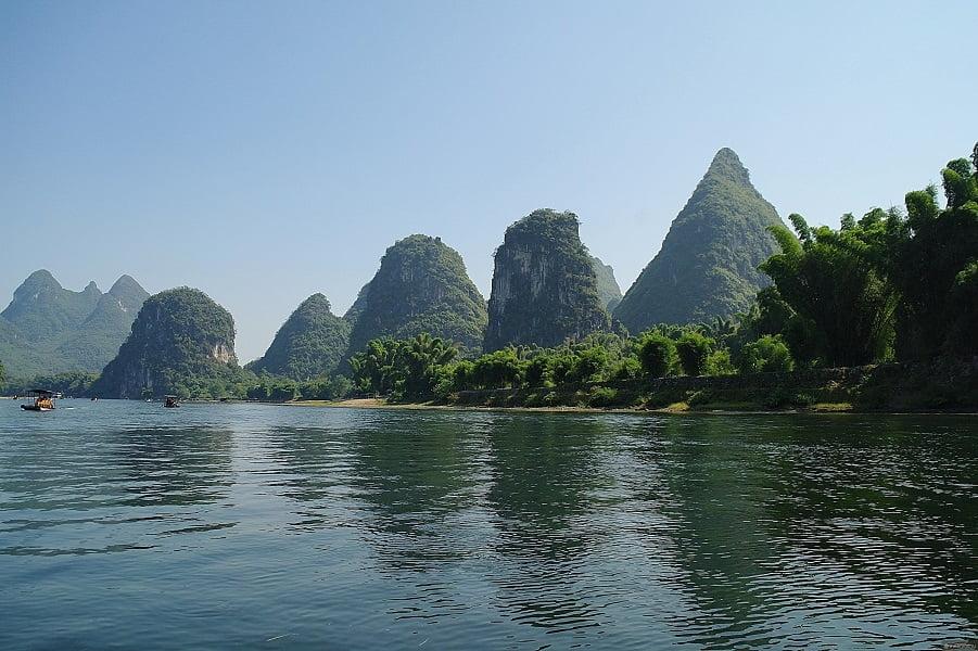 Путешествие в Китай. Гуйлинь. Река Ли
