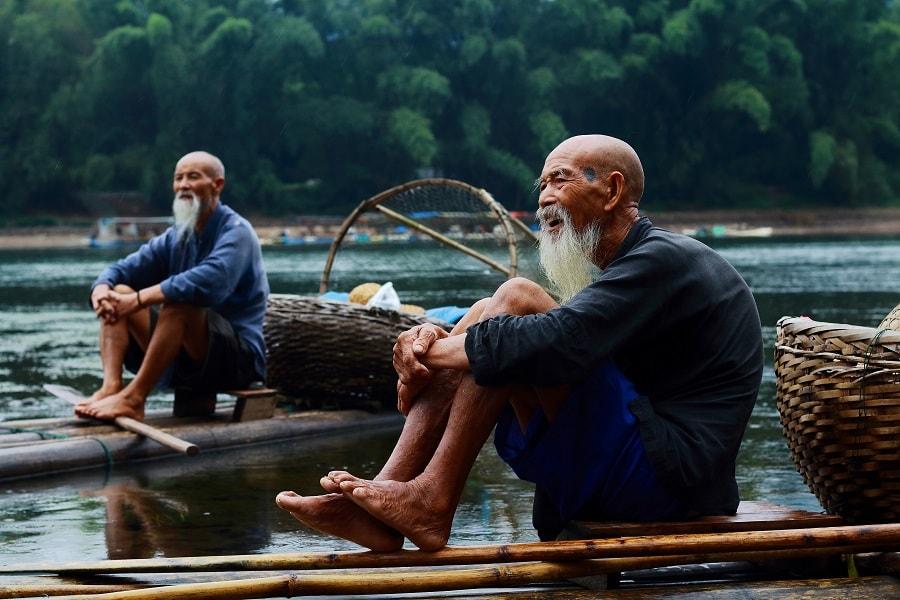 Путешествие в Гуйлинь. Рыбаки