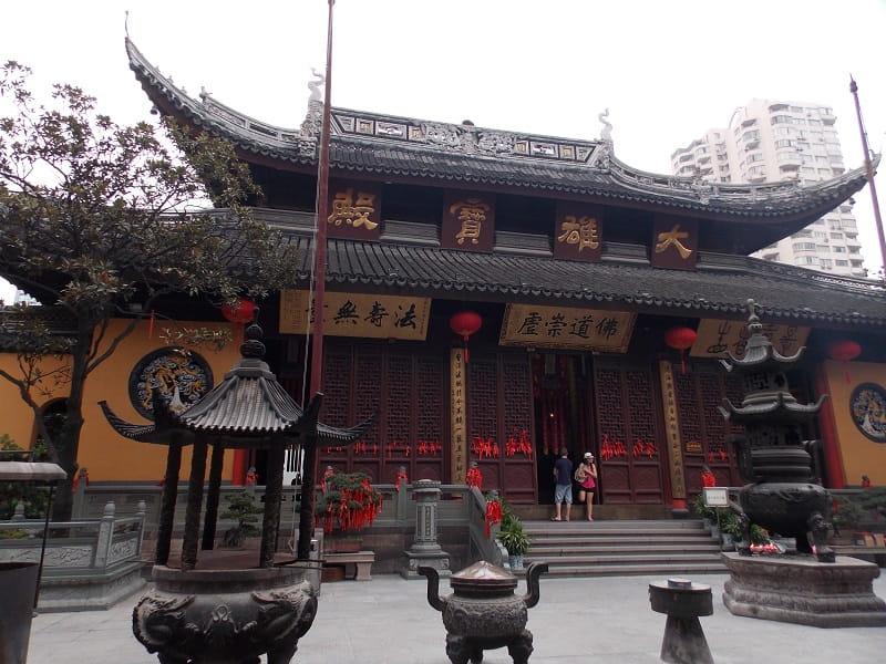 Туры в Шанхай из Киева. Храм нефритового Будды