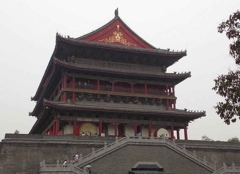 Путешествие в Китай. Сиань. Барабанная башня