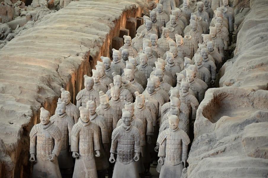 Экскурсионные туры в Китай из Украины. Терракотовое войско