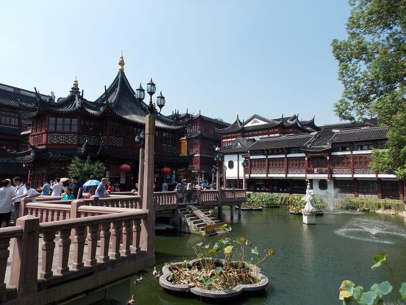 Поездка в Китай из Киева. Шанхай. Центр города