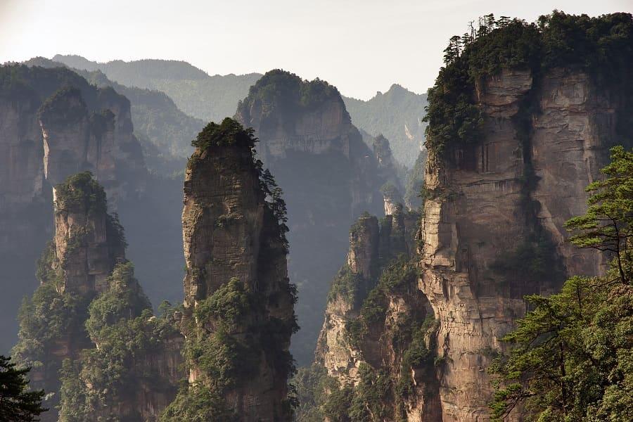 ТУры в Чжанцзяцзе - летящие горы Аватара