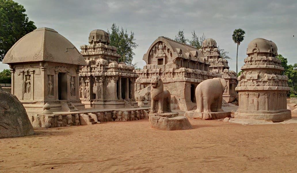 Экскурсионные туры в Индию. Махабалипурам. Пять Ратх