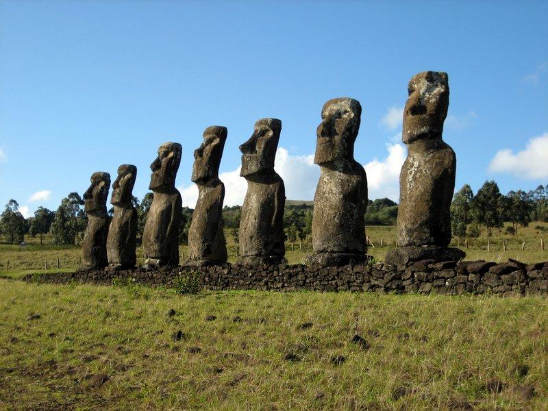 Экскурсионные туры в Чили. Остров Пасхи. Аху Акиви