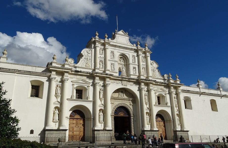 Экскурсионные туры в Гватемалу. Антигуа. Центральный собор
