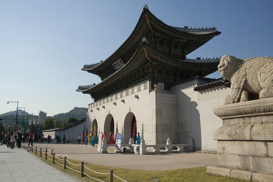 Экскурсионные туры в Корею из Киева. Сеул. Дворец