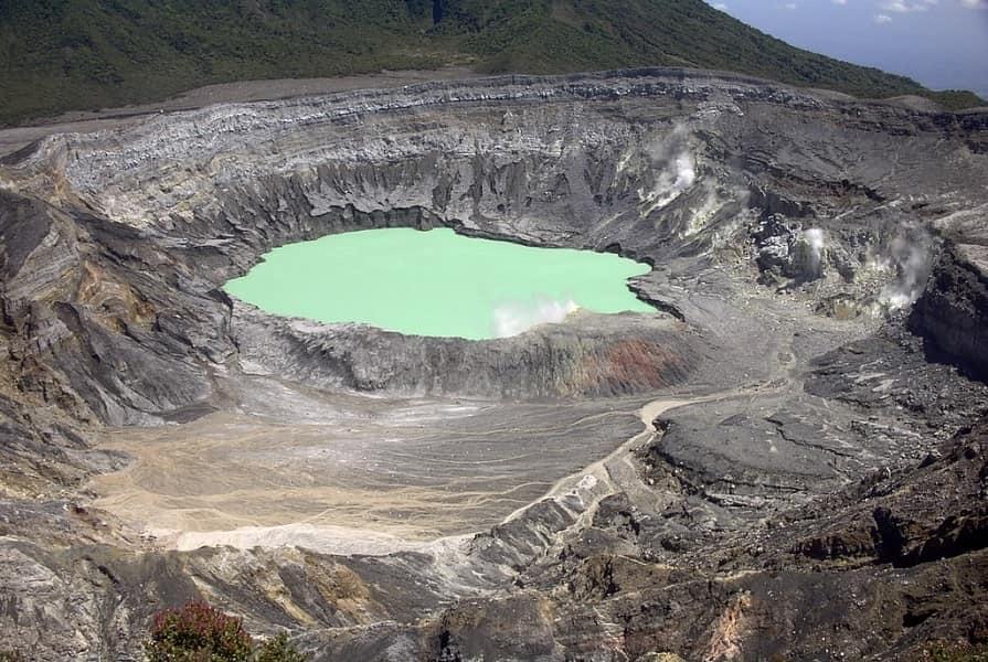 Экскурсионные туры в Коста Рику. Кратер вулкана Поас