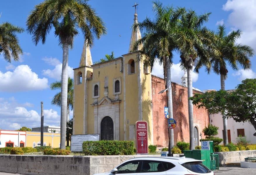 Экскурсионные туры в Мексику. Собор в Мериде