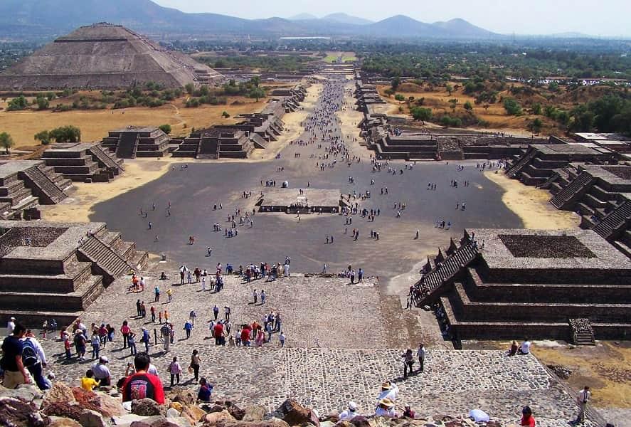 Экскурсионные туры в Мексику. Теотиуакан. Пирамида Солнца