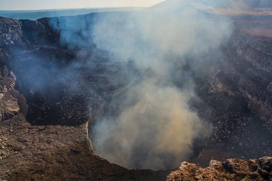 Экскурсионные туры в Никарагуа. Кратер вулкана Масайя