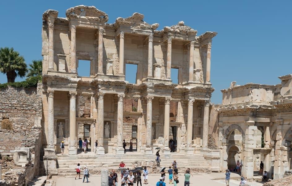 Экскурсионные туры в Турцию. Эфес. Библиотека