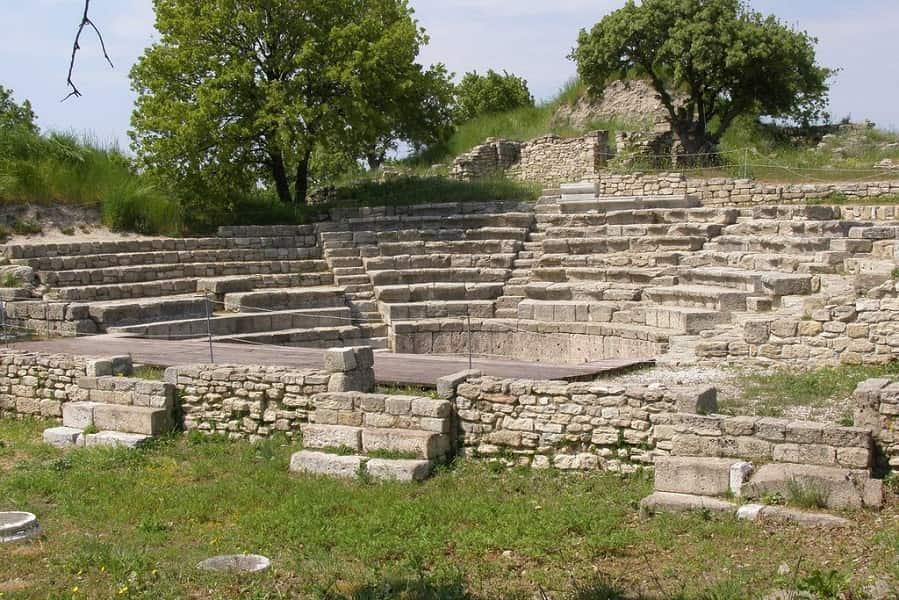 Экскурсионные туры в Турцию. Троя. Амфитеатр