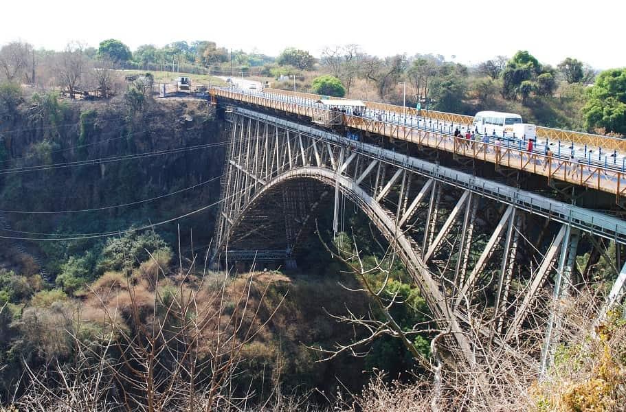 Экскурсионные туры в Замбию. Мост Ливингстона