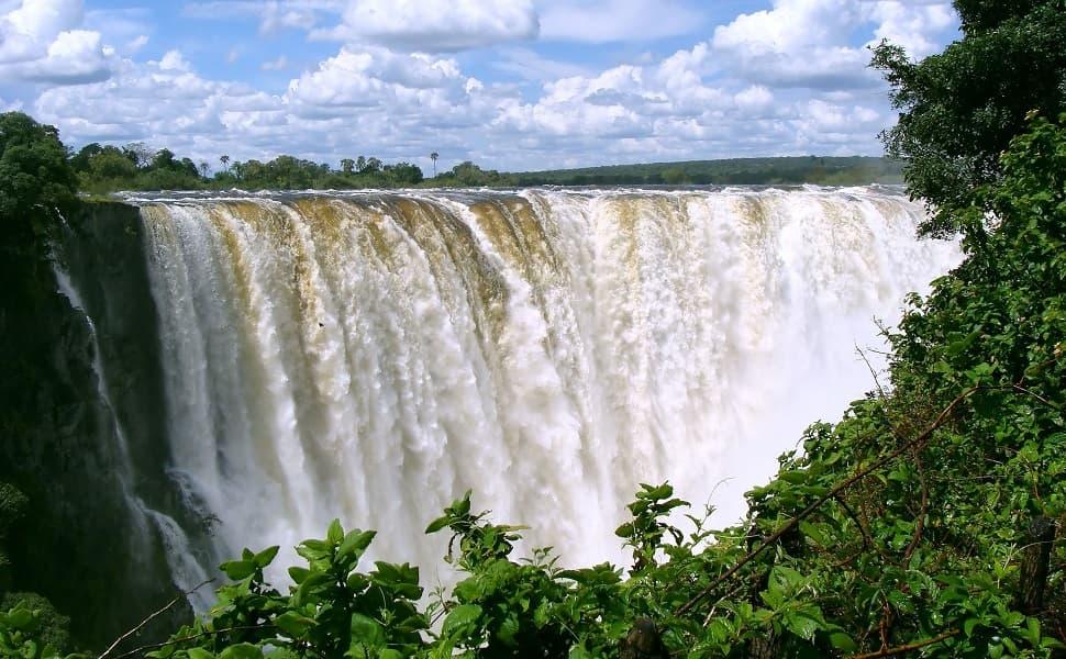 Экскурсионные туры в Зимбабве. Фото водопада Виктория
