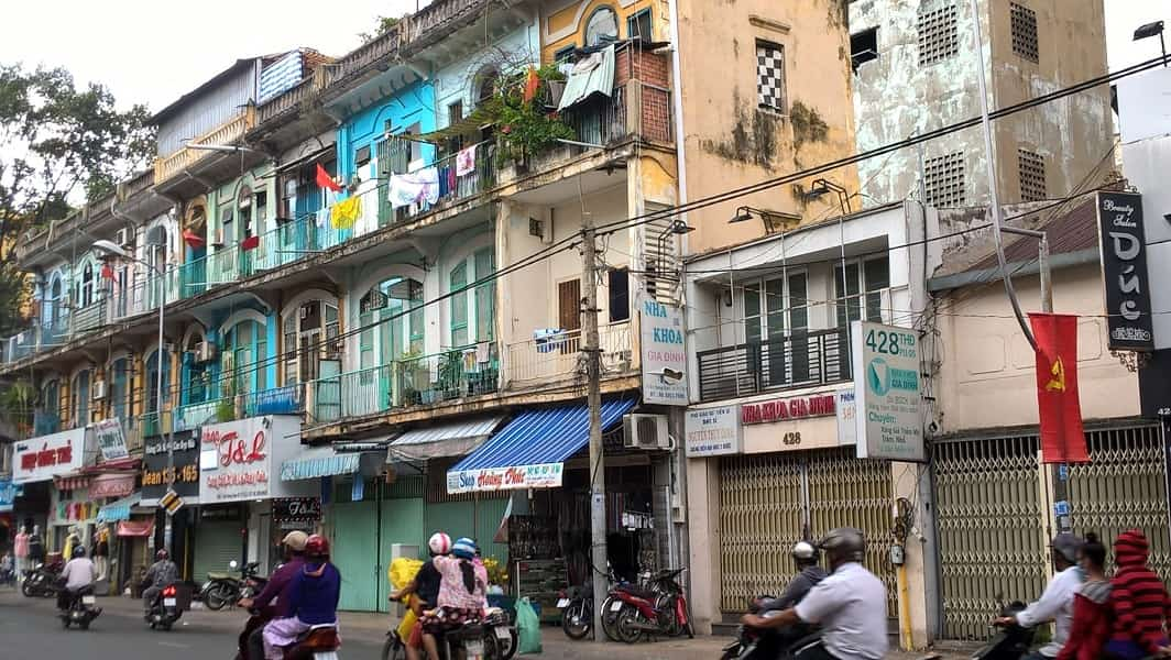 Экскурсионные туры во Вьетнам. Улицы Хошимина