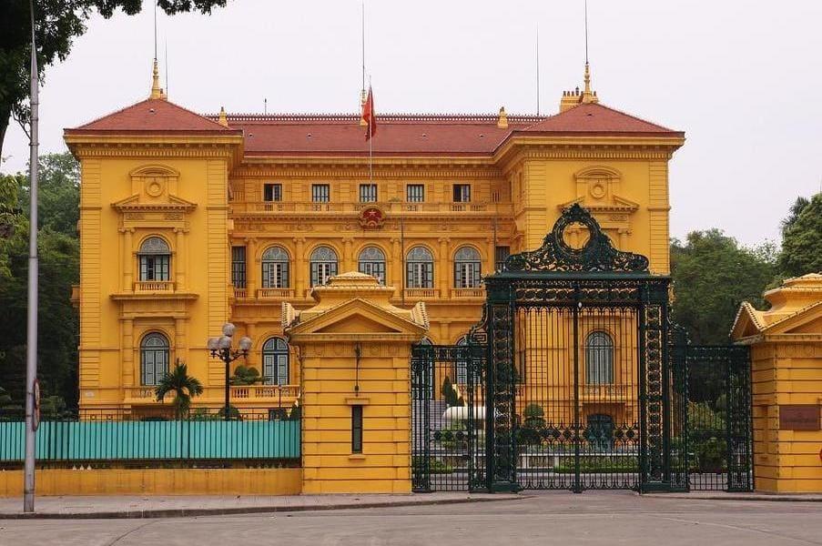 Групповой тур во Вьетнам. Ханой. Президентский дворец