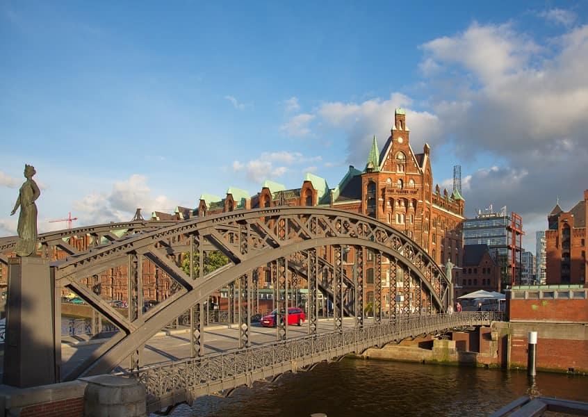 Групповые туры в Германию из Киева. Гамбург. Мост