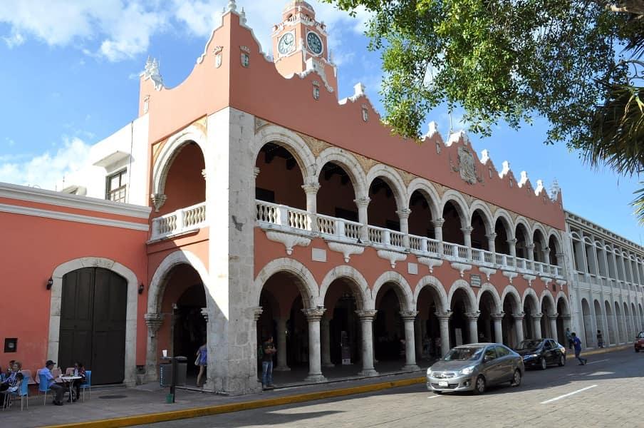 Групповые туры в Мексику. Мерида. Центр города