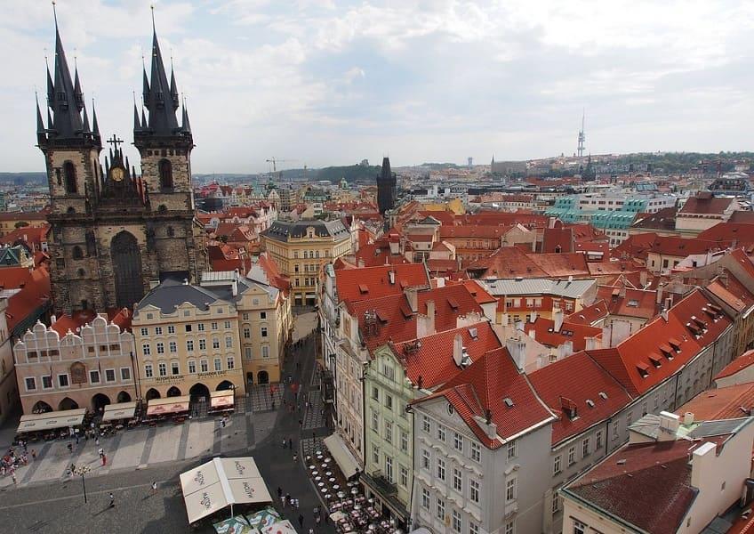 Групповые туры в Прагу. Староместская площадь фото