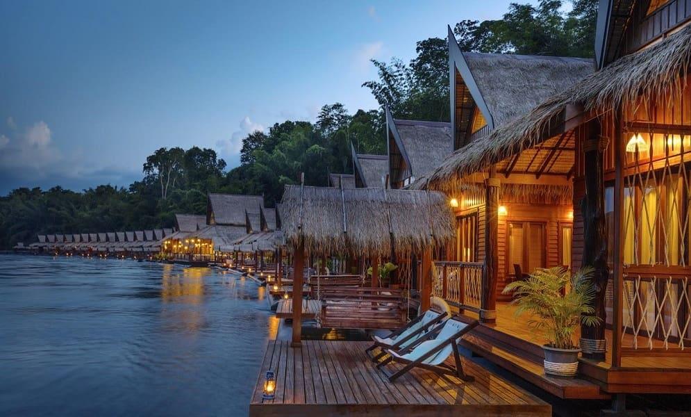 Групповые туры в Тайланд. Отель на речке Квай