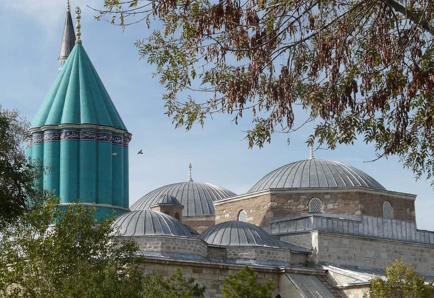 Групповые туры в Турцию. Конья. Купол мечети