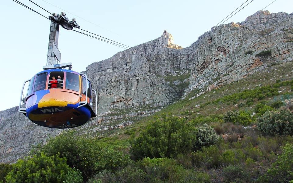 Групповые туры в ЮАР. Кейптаун. Фуникулер на Столовую гору