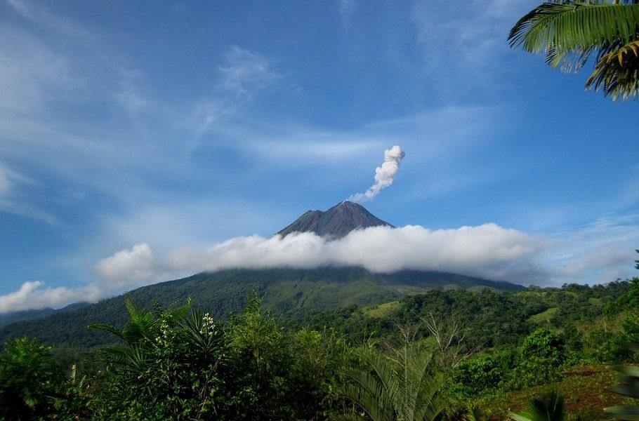 Индивидуальные туры в Коста Рику. Вулкан Ареналь