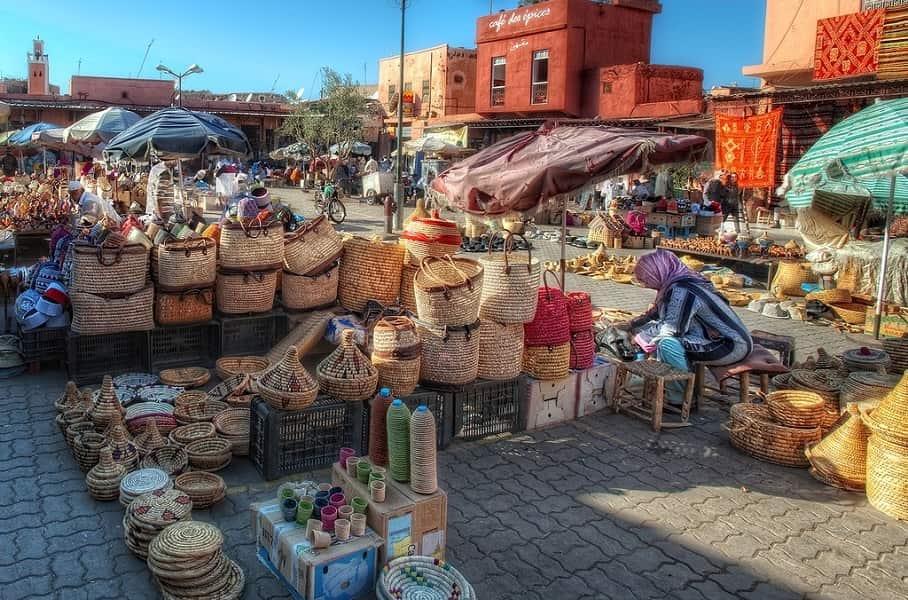 Индивидуальные туры в Марокко. Марракеш. Базар