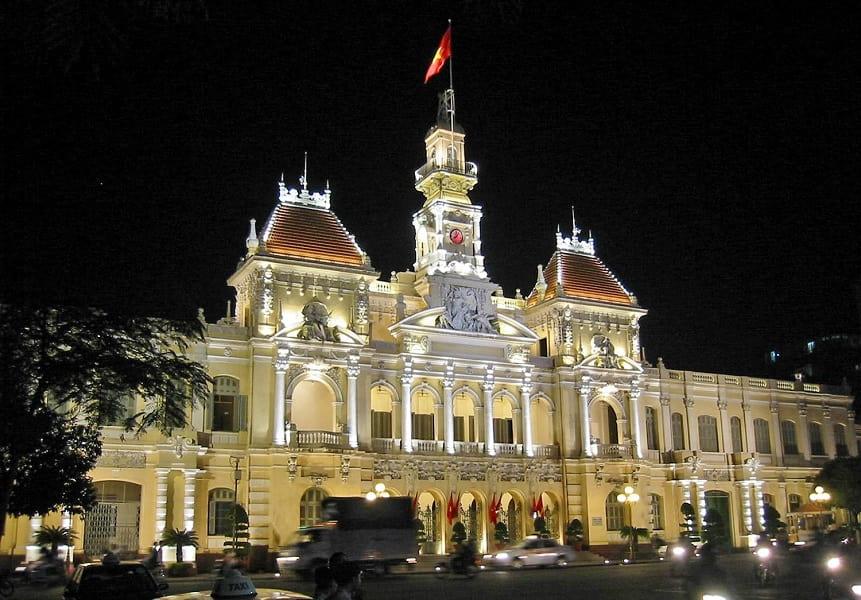 Индивидуальные туры во Вьетнам. Ночной  Хошимин