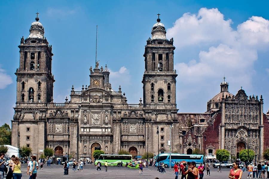 Комбинированные туры в Мексику. Мехико. Кафедральный собор