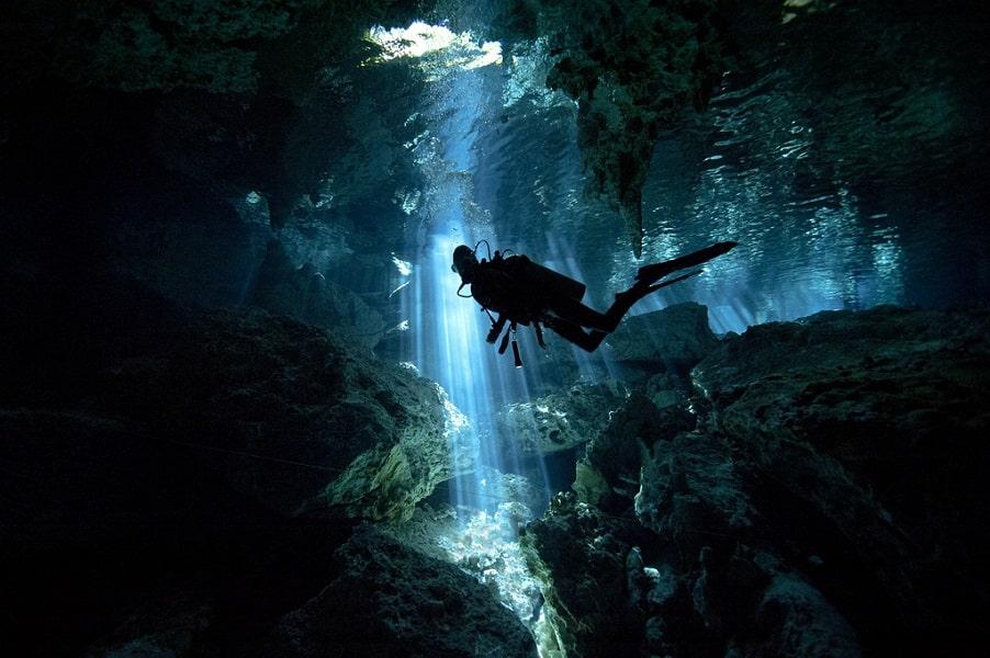 Комбинированные туры в Мексику. Пещеры Юкатана