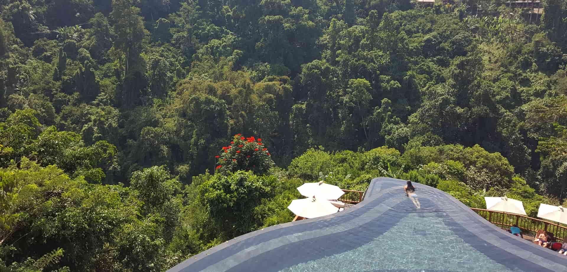Отдых на Бали. Убуд. Бассейн в отеле