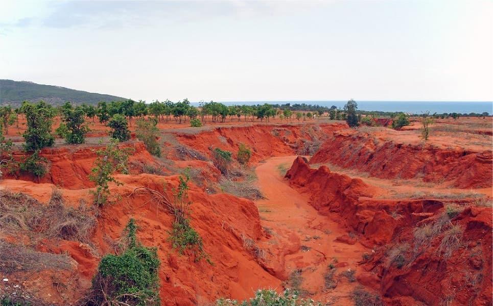 Отдых на Фантьете. Красный каньон