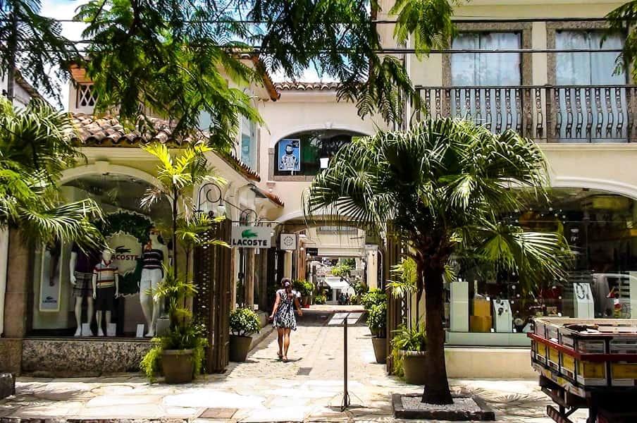 Отдых в Бразилии. Улицы Бузиоса