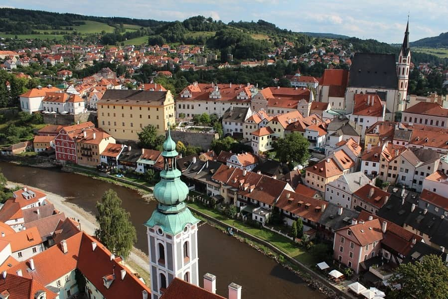 Отдых в Чехии. Экскурсия в Чешский Крумлов