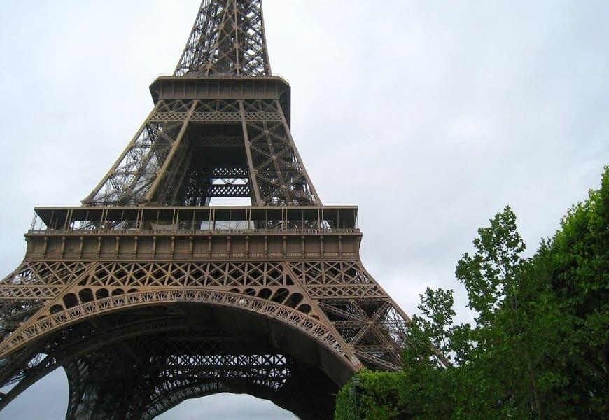 Отдых в Чехии. Экскурсия в Париж. Эйфелева башня