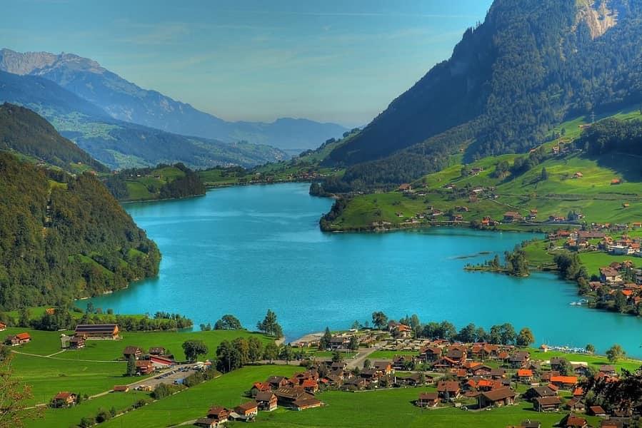 Отдых в Чехии. Поездка в Швейчарию. Интерлакен