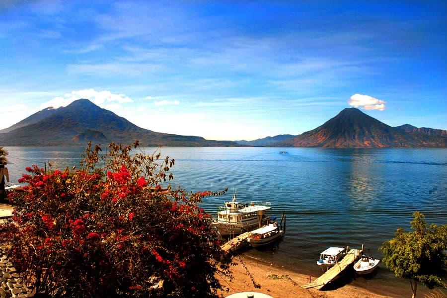 Отдых в Гватемале. Озеро Атитлан. Панахачель