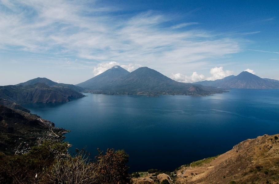 Отдых в Гватемале. Озеро Атитлан