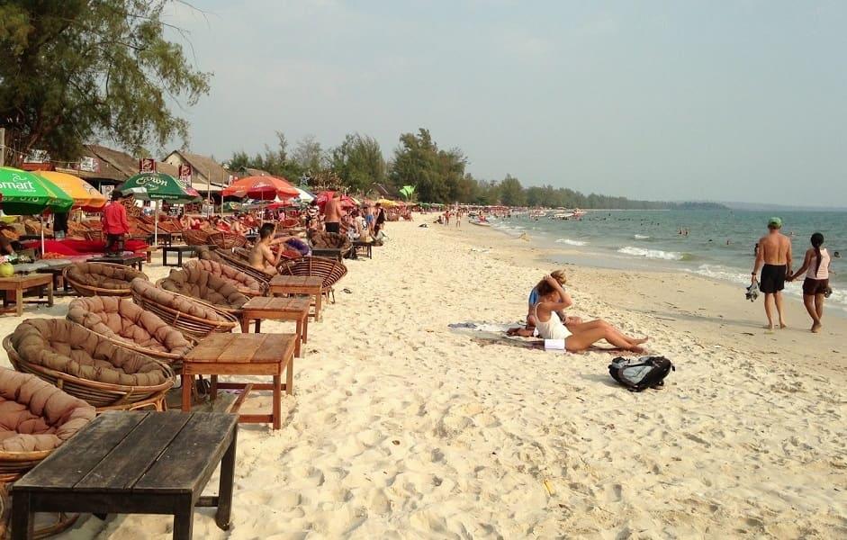 Отдых в Камбодже. Сиануквиль пляж