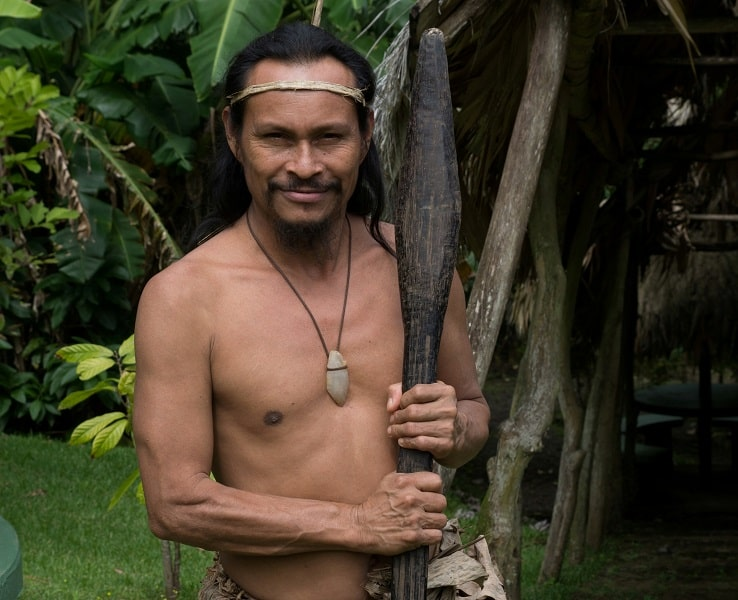 Отдых в Коста Рике. Шаман из племени индейцев Малеку