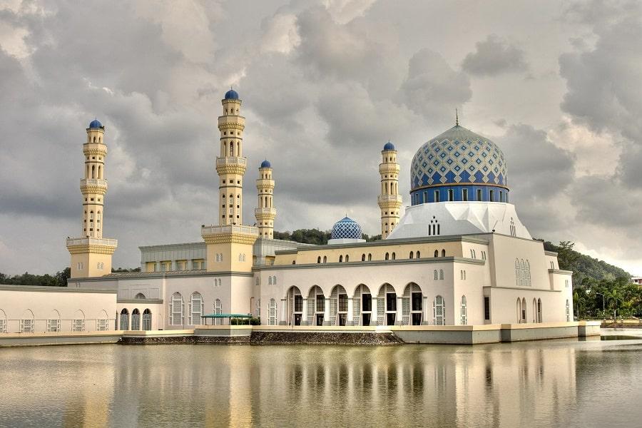 Отдых в Малайзии. Кота Кинабалу. Городская мечеть