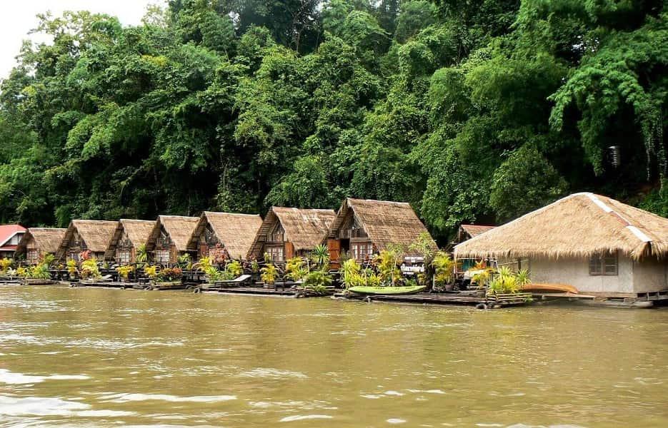 Отдых в Таиланд. Отель на реке Квай фото