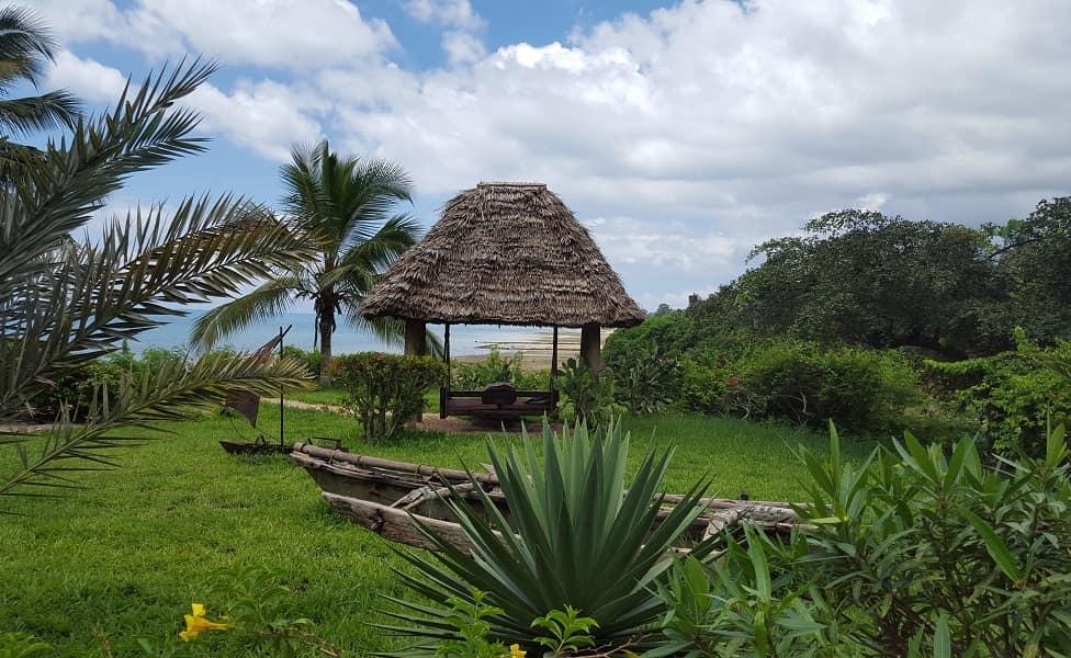 Отдых в Танзании. Занзибар. Беседка в отеле